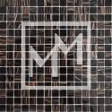 Mosaique haut de gamme noir dorée 20*20 mm