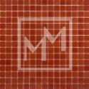 Mosaique rouge lisse 20*20 mm