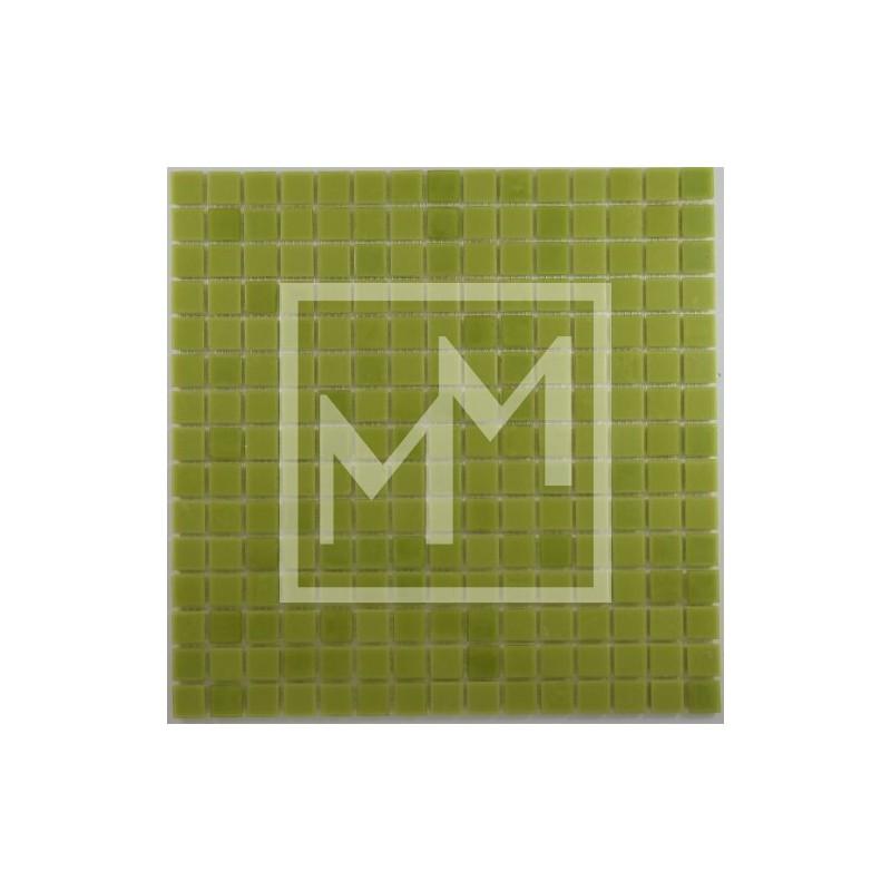 Mosaïque, carrelage haut de gamme vert pour finition de salle de bain