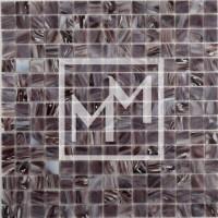 Mosaique marron crème