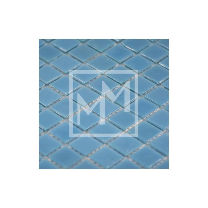 Mosaique Carrelage Mosaique Bleu Ciel Pour Douche A L Italienne