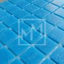 Mosaique bleu turquoise 20*20 mm