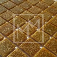 Mosaique beige foncé 20*20 mm