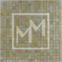 Mosaique jaune clair irisé 15*15 mm